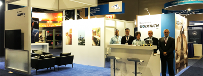 nugi team at booth 844 at nbaa 2018