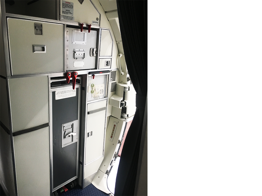 interior refurbishment of erj145