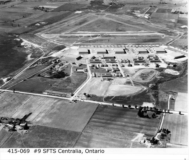 aerial view of sfts centralia ontario