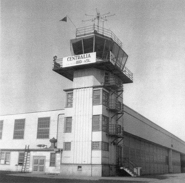 RCAF Centralia Control Tower 1956